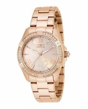 Invicta 21417 Ladies Angel Rose Gold Plated Bracelet Watch …