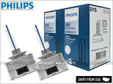 New Release! D1S PHILIPS 5000K White Vision HID XENON Bulbs 85415WHV2 LED Effect