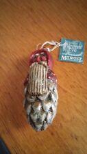Midwest of Cannon Falls Pam Schifferl -Santa Pine Cone Ornament