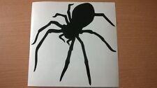 funny fun black scary spider vinyl car sticker  rear window wall art laptop door