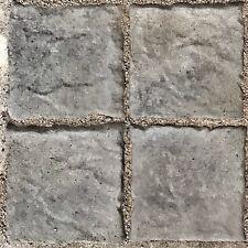 6x6 Tumbled Tile Paver Molds 20pcs