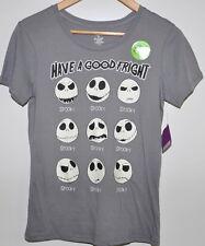 The Nightmare Before Christmas Jack Shirt Size Small Juniors 3/5 Glow in Dark