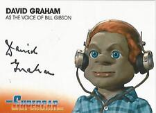 "Supercar - DG3 David Graham ""Bill Gibson"" Autograph Card"
