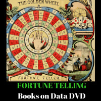 105 RARE BOOKS ON FORTUNE TELLING, PALMISTRY, DREAMS, ASTROLOGY, PSYCHIC ON DVD