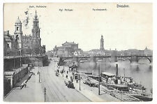 Germany Dresden Paddlesteamer Austria at Riverbank PPC St Leonards 1914 PMK