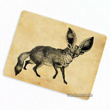 Bat Eared Fox Deco Magnet, Decorative Fridge Refrigerator Animal Vintage Figure