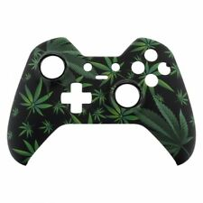 Custom Microsoft Xbox One Elite Controller Front Shell Replacement CannabisLeafs
