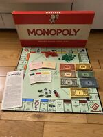 Vintage Waddingtons Monopoly. 100% Complete.Original Classic 1961 Edition Game .