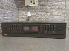 Goodmans GSQ 360 Graphic Equaliser 5 Band Stereo Spectrum Analyzer Hifi Separate