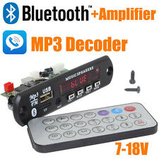 12V Car Handsfree Bluetooth MP3 Decode Board with Bluetooth Module+2*3 Amplifier