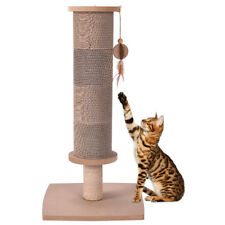 Cat Scratching Post Tall Activity Tree Cat Scratcher with Funny Toy Nature New