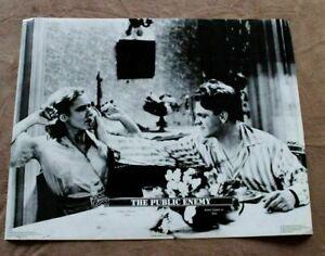 Public Enemy 1989 Warner Turner James Cagney Mae Clark Press One Poster GVG