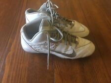 Nike speedlax 4-size 11 White Lacross Cleats-Gently used
