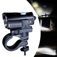 Cycling Bicycle LED Lamp USB Rechargeable Bike Head Front Light Torch w/bracket