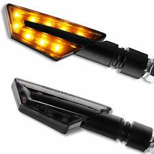 LED Mini Blinker Paco schwarz Motorrad Yamaha MT125 MT01 MT03 MT07 MT09 MT10