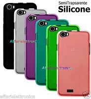 Custodia cover case tpu gel silicone morbida GOMMA SLIM gbt per WIKO PULP 4G 5.0