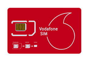 Vodafone Ireland 4G Sim Card 3 in 1 ⭐ Unlimited call & text ⭐ Free EU Rooming ⭐
