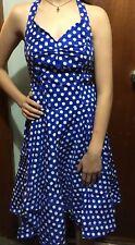 Belle Poque Polka dot Swing Dress Sz S Bnwt Free Post (e84)