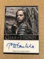 Game Of Thrones Season 5 Tom Wlaschiha Autograph Card, Jaqen H'ghar auto