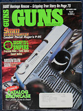 Magazine *GUNS* October, 1996 ! SMITH & WESSON K-22 Model 17 10-Shot REVOLVER !