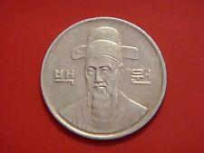 Korea-south 100 Won, 1988, Admiral Yi Soon - Shin