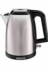 Krups BW3110 Savoy Electric Kettle Auto off Stainless Steel 1.7 L