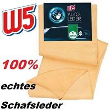 Fensterleder Echtes Auto Leder Ledertuch Staubtuch 100% Schafsleder  W5 37x55cm