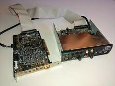 Creative Sound Blaster Audigy 2 ZS PCI SB0350 Sound Card, SB0250 Hub Controller
