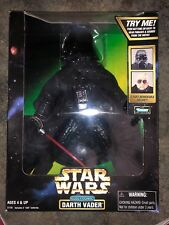 """Star Wars Electronic Darth Vader 14"""" Action Figure, Kenner Collection 1998"""
