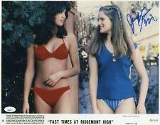 Jennifer Jason Leigh Autograph Signed 11x14 Photo - Fast Times (JSA COA)