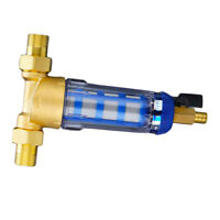 """Whole House Water Pre-filter System Tank Water Filter 3/4"""" 1/2"""" Brass Port"""