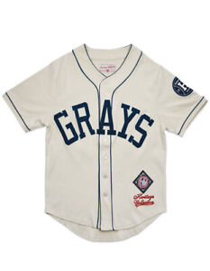 HOMESTEAD GRAYS NEGRO LEAGUE BASEBALL HERITAGE JERSEY Baseball Jersey NLBM MLB