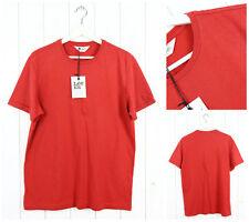 NUEVO LEE 101 Camisetas Camiseta Corte Normal Rojo M