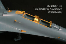 Dreammodel 1/48 2025 SU-27 SU-27UB Russian Sukhoi Update Detail PE for Academy
