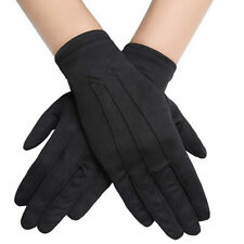Imcute High Quality one pair Unisex Cotton rewashed and reused Black gloves