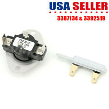 3387134 3392519 Kit Dryer Cycling Thermostat Thermal Fuse For Whirlpool Kenmore