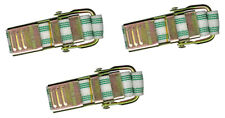 Bst4 Banding Straps For Molds & Other Banding Applications, 4 Ft, Green, 3 Pack