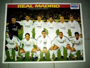 2003 POSTER REAL MADRID ROBERTO CARLOS ESPANA ESPAGNE  no maillot