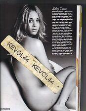 KALEY CUOCO BIG BANG THEORY ASHLEY TISDALE Magazine 5/11 NUDE SEXY HOT!! PC