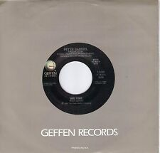 PETER GABRIEL  Big Time / Don't Give Up  rare 45