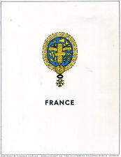 Lindner VD Frankreich 1961 - 1985 in 2 br. Ringbindern  ( Z567 )