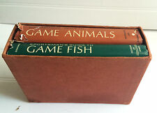 Vintage Fishing Books (2) Sportsman's Guide to Game Fish & Guide to Game Animals