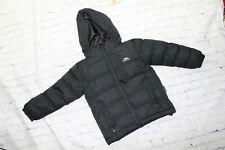 Trespass Black Full Zip Hooded Jacket Insulation Size 2/3