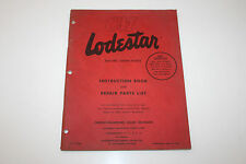 CM Lodestar Electric Chain Hoists Instruction Book and Repair Parts List
