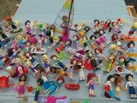 Lego Friends Minifigures, Figures. A. Stephanie, Mia, Matthew ,Andrea Etc