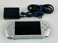 Sony PSP-3000 Portable Mystic Silver Handheld System only console Vintage JAPAN
