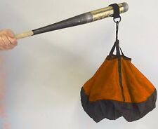 Bat Chute by Chute Trainer swing aid increases strength and bat speed Orange