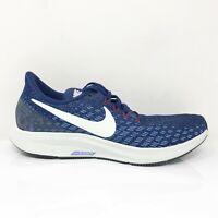Nike Womens Air Zoom Pegasus 35 942855-404 Blue White Running Shoes Size 8.5