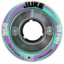 Atom Juke Aluminum Roller Derby Skate Wheels Pack Of 8 New - 95A  - 59mm x 38mm