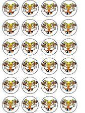 Home & Garden 24 X Wolverine Misto NovitÀ Carta Di Riso Compleanno Topper Per Torta